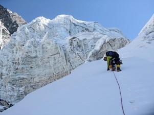 Cesar climbing