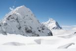 Unclimbed Peak of Porta Maraini and Pandim from Colle Sella