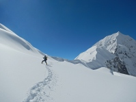 new glacier between Colle Tilman and Colle Sella