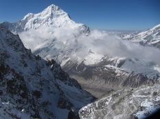 Pandim from Rinpoche Temple Peak